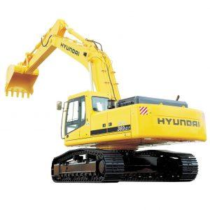 Экскаватор гусеничный Hyundai R360lc-7